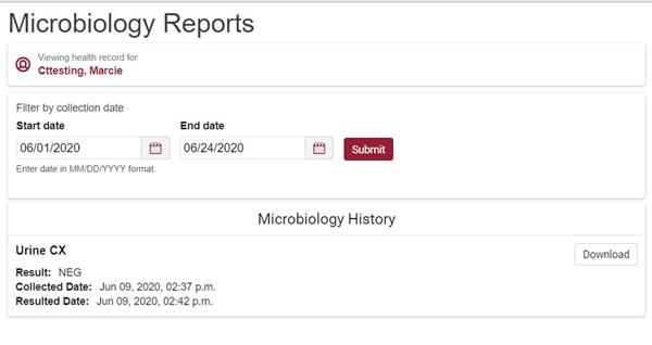 microbiology reports